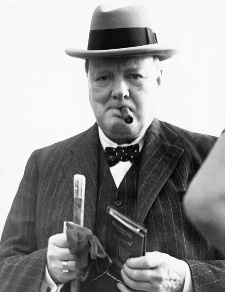 In British Prime Minister Winston Churchill, German dictator Adolf Hitler met his match