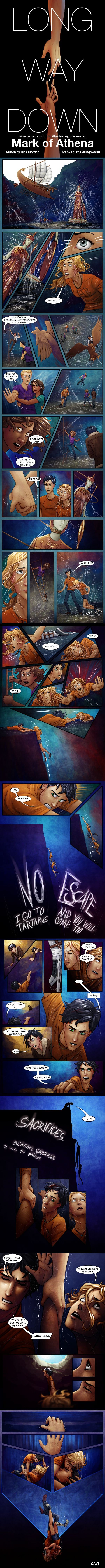 Long Way Down - Complete Comic - Mark of Athena by lostie815.deviantart.com MY HEART!! The feels have taken over!! :(