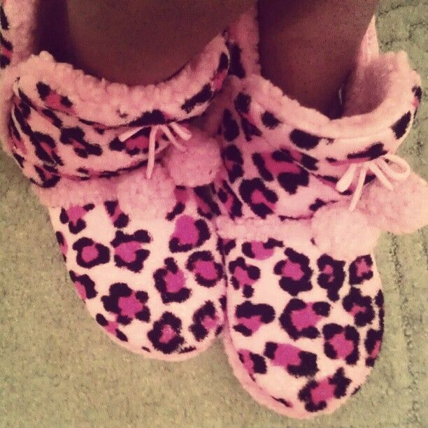Fuzzy House Slippers 3