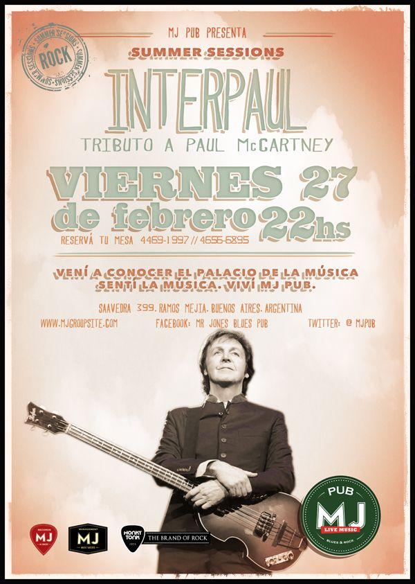 Tributo a Paul Mc Cartney