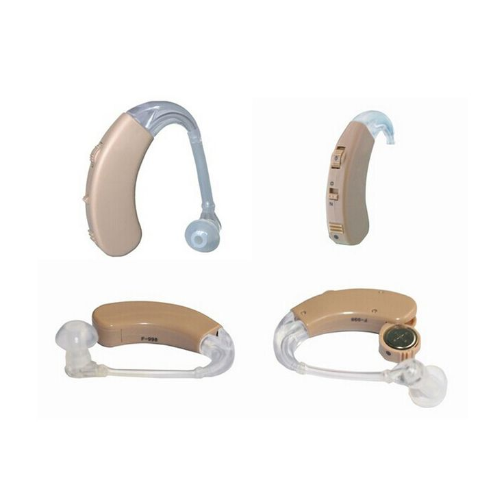 F-998 Ear Hearing Aid Device Adjustable Sound Voice Amplifier Ear Hook Enhancement Hear Clear for the Elderly Deaf Aids Care