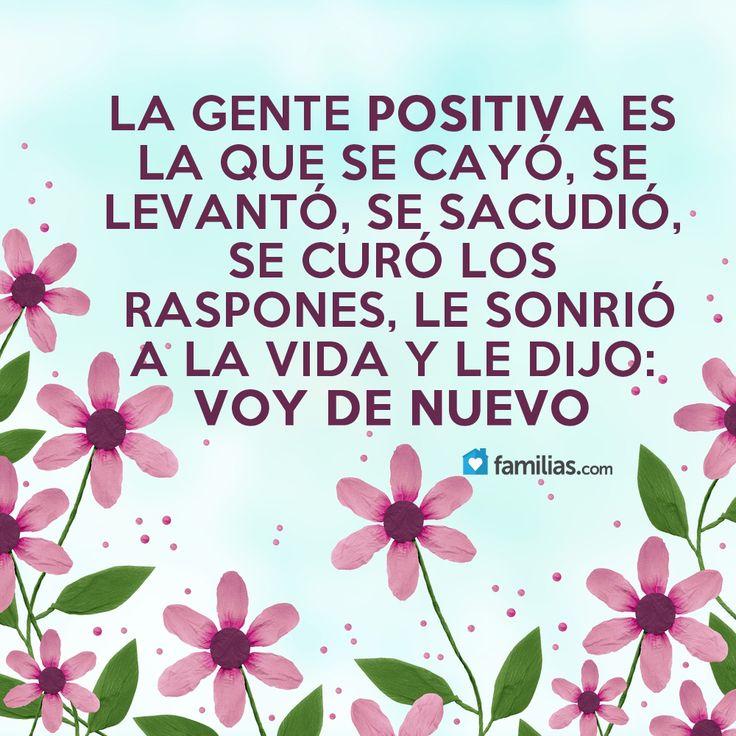 Sé una persona positiva                                                                                                                                                                                 Más