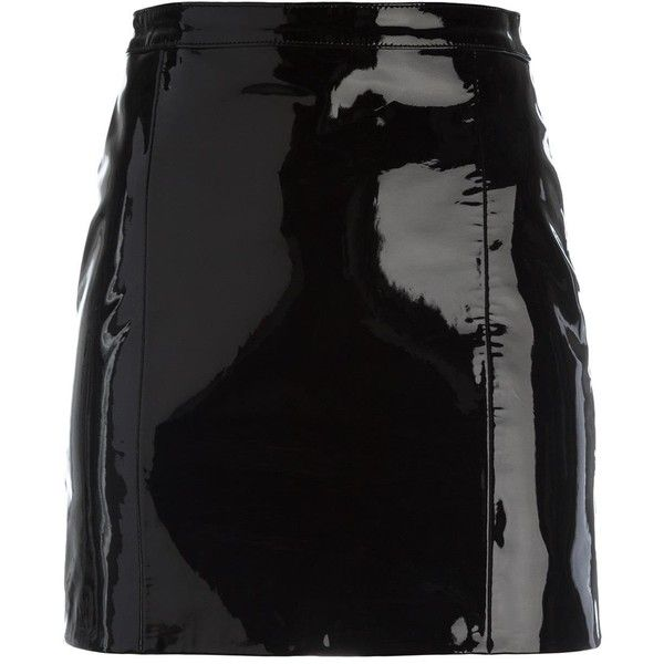 Manokhi Fusta skirt (2.245 RON) ❤ liked on Polyvore featuring skirts, bottoms and black