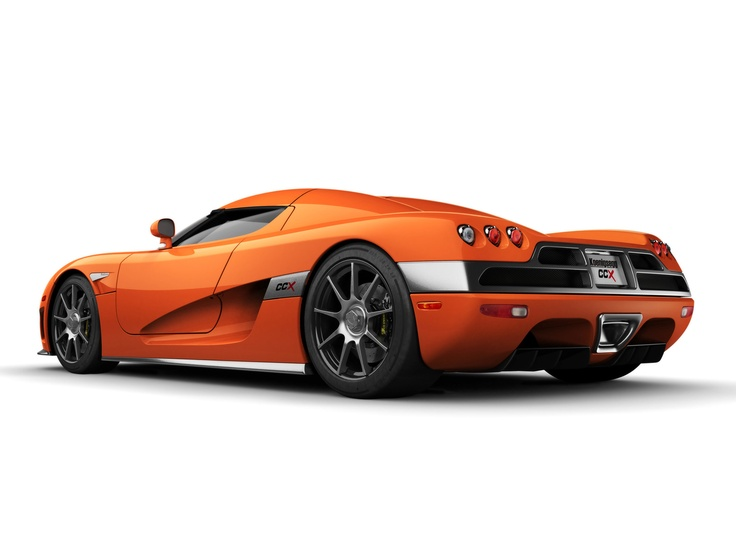 Orange Koenigsegg Ccx Car In Worlds Fastest