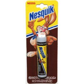 Nesquik Chocolate Flavored Lip Balm (2007 formulation) || Skin Deep® Cosmetics Database | Environmental Working Group