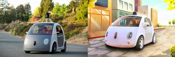 Google's self-driving cars will get a steering wheel and pedals for testing in California
