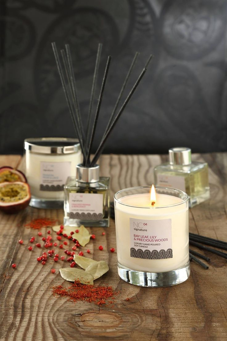 Candles and reed diffusers by Northumbrian Candleworks
