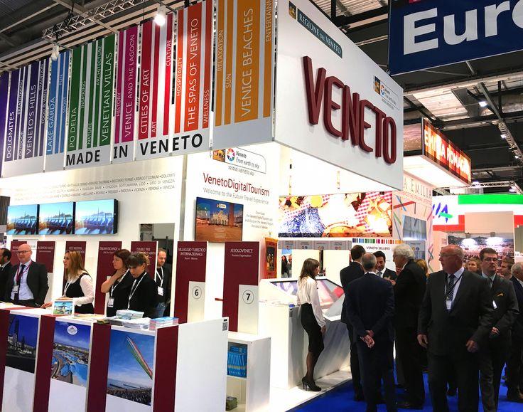 Veneto Region's  exhibition space at World Travel Market 2016, London