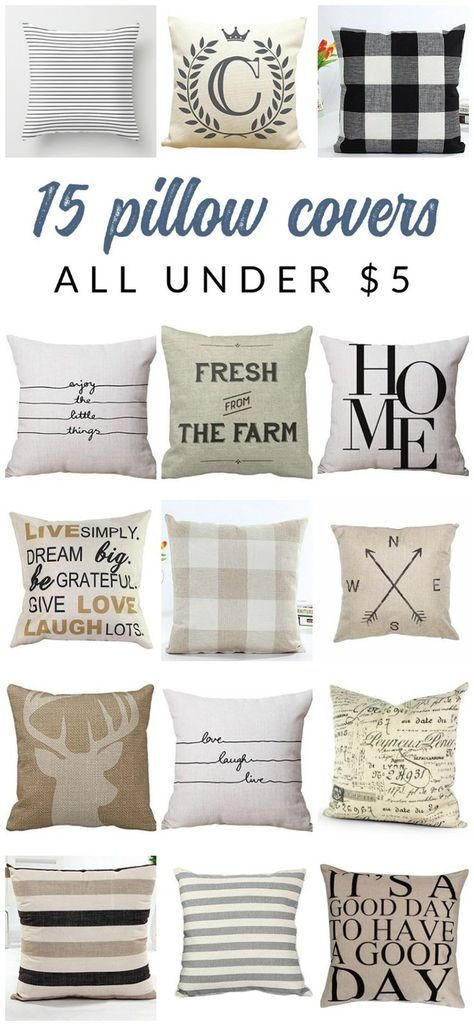 Gorgeous And Inexpensive Neutral Farmhouse Pillow Covers Farmhouse Beauteous Inexpensive Pillow Covers