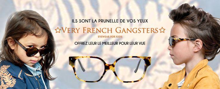 Very French Gangster Lunettes de vue, Lunettes de soleil et Lentilles de contact Lunigal Opticien en ligne.