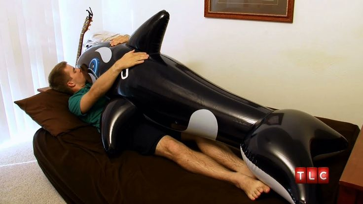 I think I've had too much internet today.    I Love My Inflatable Animals | My Strange Addiction