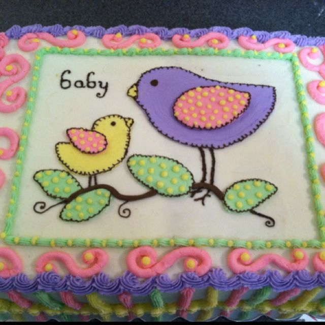 Baby Shower Decorated Cakes: 183 Best Images About Baby Shower Cakes On Pinterest