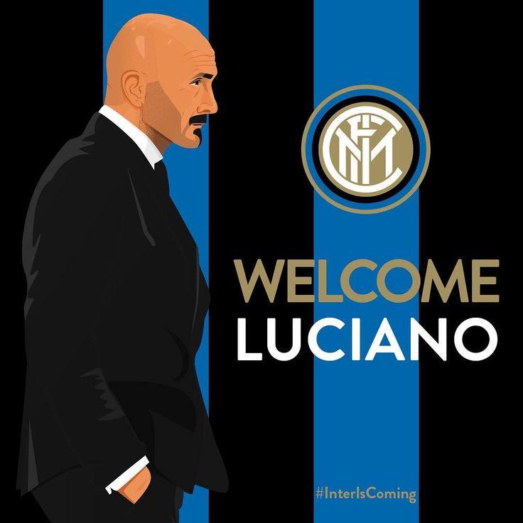 """""""Mi piace"""": 86.7 mila, commenti: 1,253 - F.C. Internazionale Milano (@inter) su Instagram: """"Luciano #Spalletti is the new #Inter coach Luciano Spalletti è il nuovo allenatore dell'Inter…"""""""
