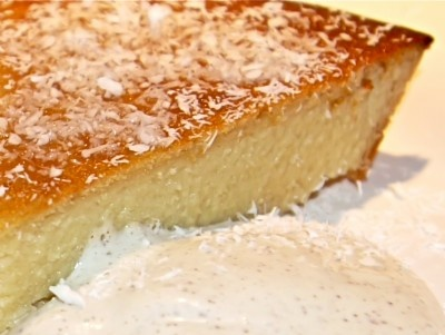 blender lemon pie (cut honey & use small amount coconut flour in place of rice)