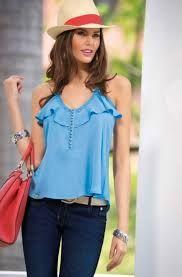 Resultado de imagen para blusas en blonda                                                                                                                                                                                 Más