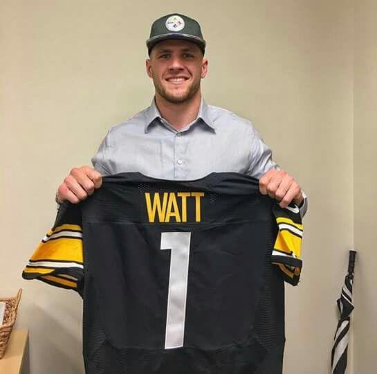 T.J. Watt, New Pittsburg SteleerDRAFT 2017 Dick27Ambrose