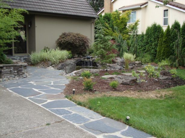 Exterior How To Do A Flagstone Walkway How To Lay Flagstone Path In Grass Stone Pathways Diy Laying Stones In Yard Brick And Flagstone Walkways How To Lay Flagstone Path Flagstone Walkway Design for Formal and Casual Outdoor Look