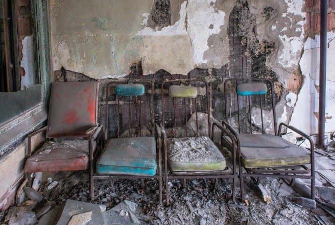 Verlaten psychiatrisch ziekenhuis in New York | EnDanDit