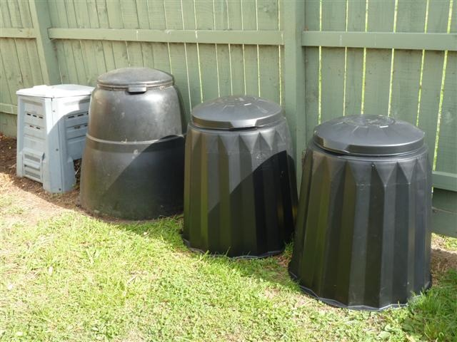 More compost bins as well