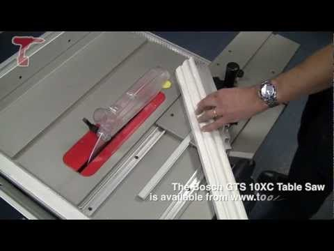 How to Make a Mitre Cut using a Bosch Table Saw