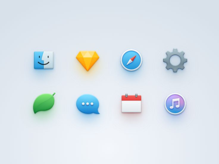 Simple Icons by Raven Yu #Design Popular #Dribbble #shots