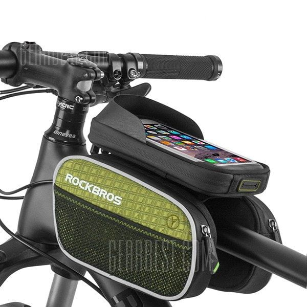 Rockbros Bike Front Frame Bag With Phone Holder Pack Sale Price