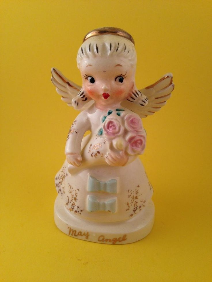 Happy Mother's Day! May Birthday Angel Figurine Roses Betson Mom Thank You Gift | Collectibles, Decorative Collectibles, Figurines | eBay!