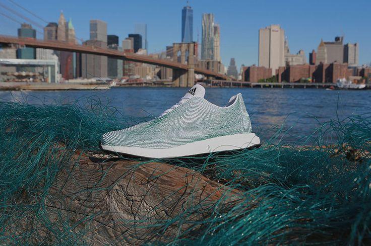 De Duitse sportkledinggigant Adidas heeft een prototype ontworpen voor een duurzame schoen die bijna geheel is gemaakt van gerecycled afval. Dat heeft de organisatie maandag bekendgemaakt. De bovenkant van de schoen is volledig gemaakt van garens en vezels die zijn teruggewonnen uit illegaal...