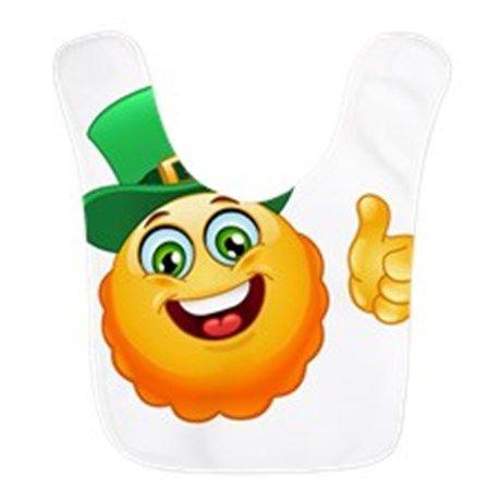 Loop And Hook >> leprechaun emoji Bib | best dressed baby | Pinterest ...