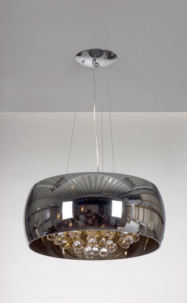 linea verdace snow white mirror 6 light pendant reviews. Black Bedroom Furniture Sets. Home Design Ideas