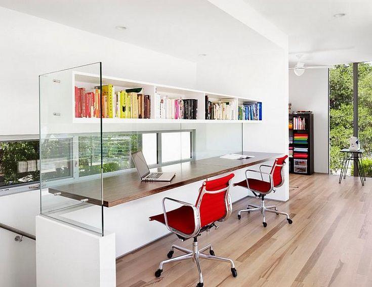 home office shared desk idea modern. 24 functional home office designs page 3 of 5 shared desk idea modern i