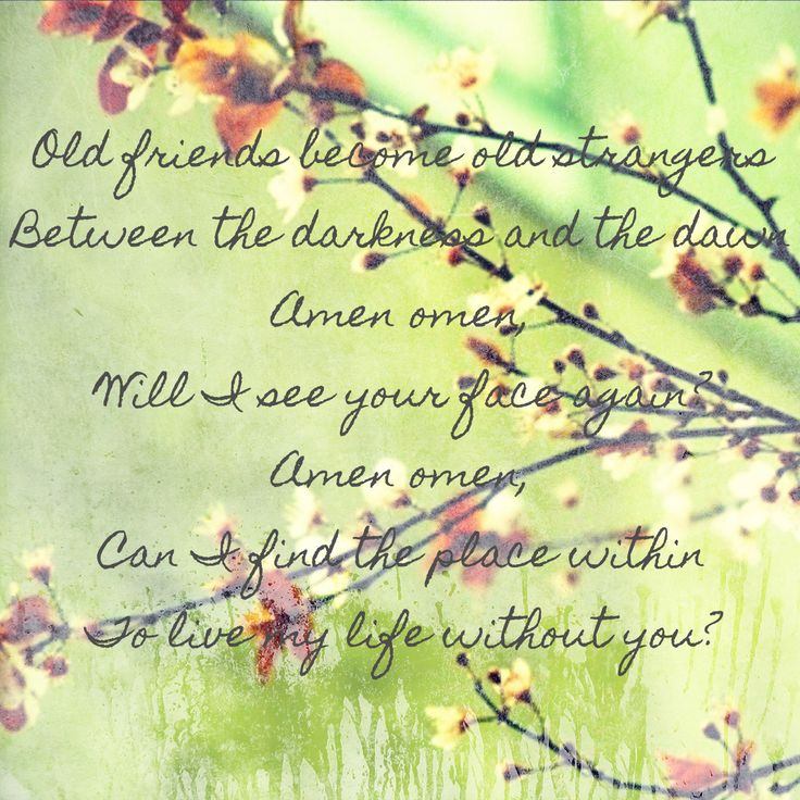 Amen Omen  ~ Ben Harper (one of my fave Ben Harper songs).