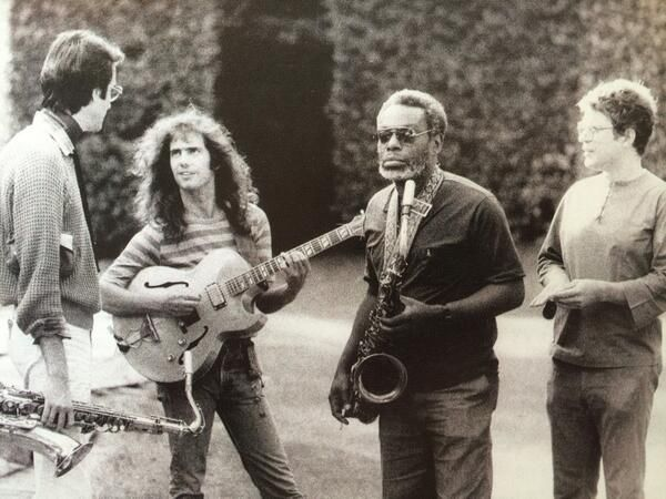 Pat Metheny's 80/81 band with Michael Brecker, Charlie Haden and Dewey Redman (1980) true jazz greats.