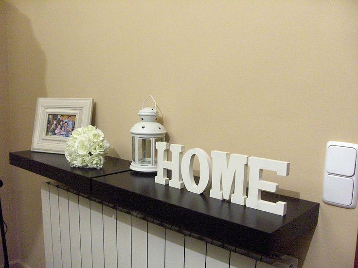 17 mejores ideas sobre decorar letras de madera en for Muebles para cubrir radiadores