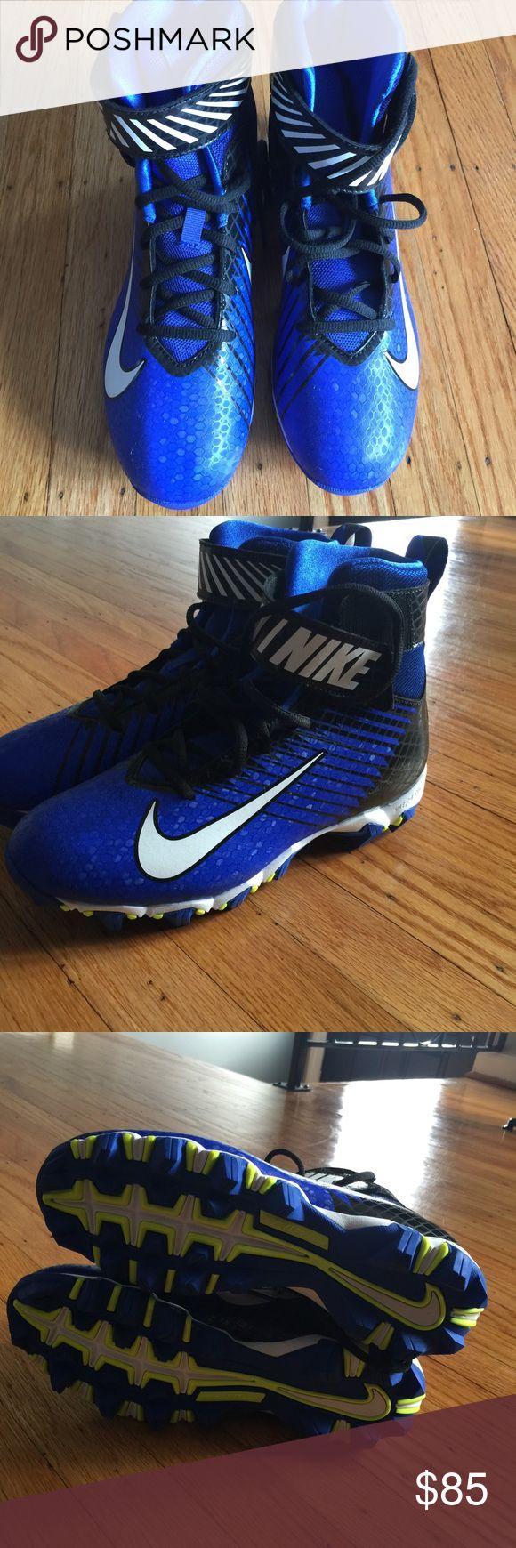 Nike football/ baseball cleats Brand new nike football/ baseball cleats. High top. No box Nike Shoes Athletic Shoes