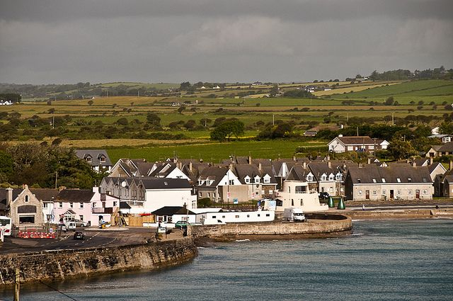 Ardmore, Ireland. Site of Nora Roberts' trilogy, Jewels of the Sun, Tears of the Moon, Heart of the Sea.