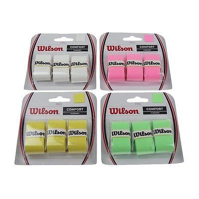 #Wilson pro #overgrips for tennis, #badminton or padel,  View more on the LINK: http://www.zeppy.io/product/gb/2/182188861584/