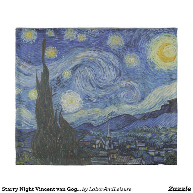Starry Night Vincent van Gogh King Size Duvet Cover