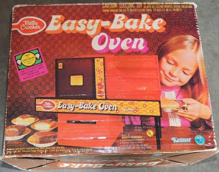 KENNER: 1973 Easy-Bake Oven #Vintage #Toys