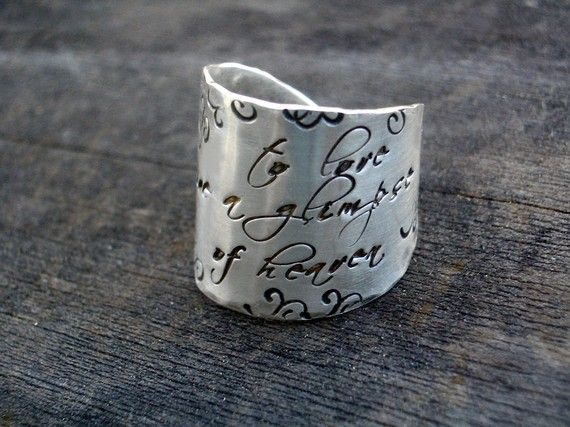 obsessed with inscribed jewellery