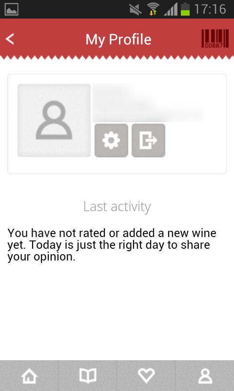 101CORKS profile, new user