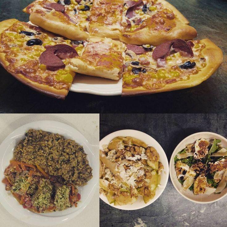 En güzel mutfak paylaşımları için kanalımıza abone olunuz. http://www.kadinika.com yaptım oldu Chief in the kitchen: Calzone & Peperoni Pizza Pane Keçi Peynirli Baby Roka Salatası RokforIceberg Salata Porçini Mantarlı Risotto  Milano Usulü Dana Bonfile #foodporn @italianfood #italiankitchen #instafood #cook #cooking #delicious #foodlover #foodies #foods #foodpics #kitchen #chief #foodblogger #foodgasm #mutfak #mutfakgram