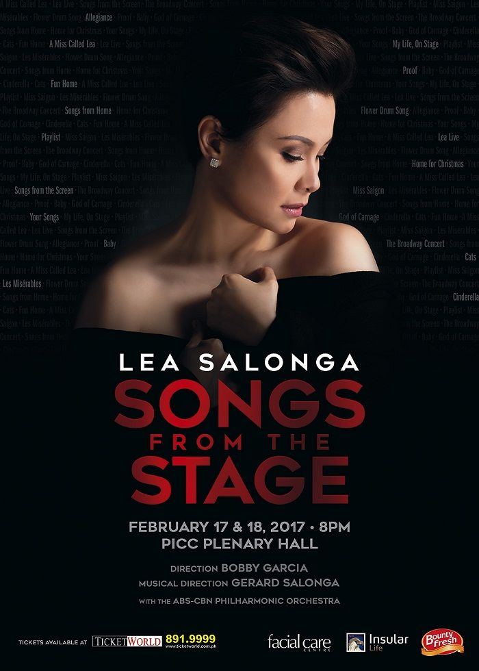 Lea Salonga Pays Tribute To Musical Theater In 'Songs From