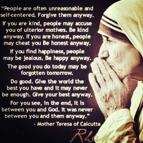 Prayer Of Compassion Mother Teresa Wwwpicsbudcom