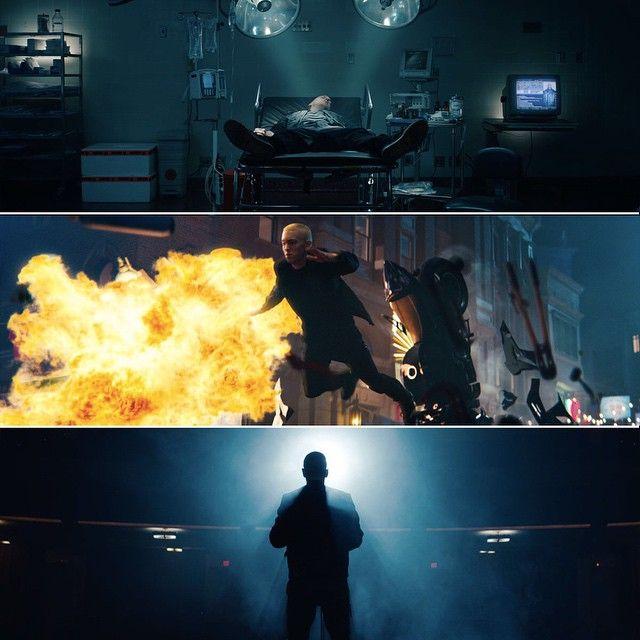 "Eminem New Music Video ""Phenomenal"" with John Malkovich / 「Kings Never Die」を発表したばかりのEminemが「Phenomenal」のミュージックビデオを公開した。共演はJohn Malkovich。"