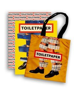 'Toiletpaper' Magazine 14 | Collector's Edition by Maurizio Cattelan and Pierpaolo Ferrari - ISBN 978-8862085373 - with Toiletpaper bag