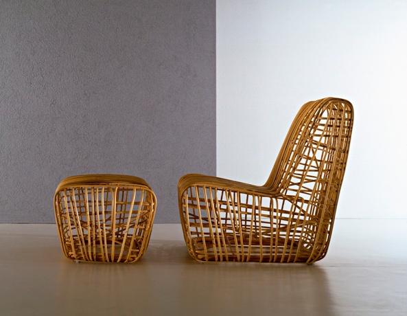 Super Elastica outdoor lounge chair, super cool!