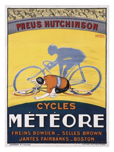 Cycles Meteore Giclee Print by Georges Faivre at AllPosters.com