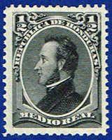 Honduras 32 Stamp - President Morazan Stamp - CA H 32-2 HR