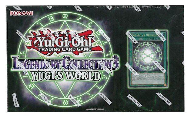 Yugioh Legendary Reprint Box Collection